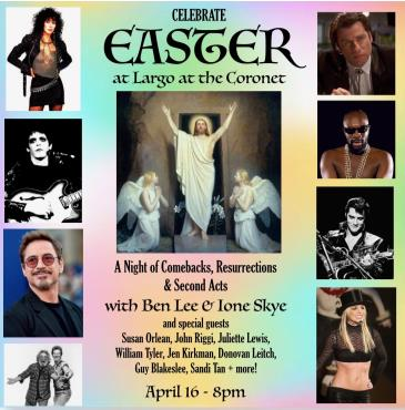 CANCELLED - Celebrate Easter w/ Ben Lee & Ione Skye: Main Image