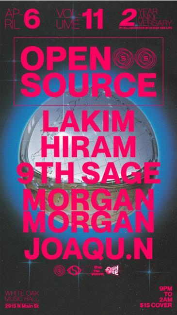 Open Source Vol. 11 w/ Lakim (Soulection): Main Image