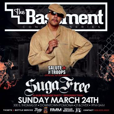 SUGA FREE Album Release/Concert After Party: Main Image