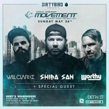 Dirtybird Presents: Official Movement Afterparty: Main Image