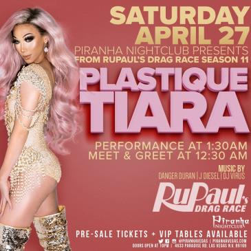 PLASTIQUE TIARA FROM RUPAULS DRAG RACE: Main Image