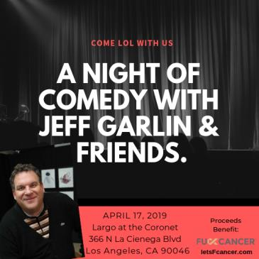 A Night of Comedy with Jeff Garlin & Friends: Main Image