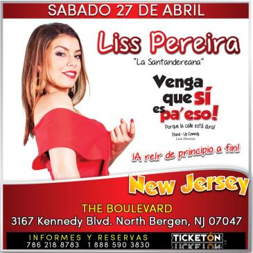 LISS PEREIRA NEW JEARSEY: Main Image