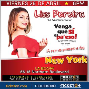 LISS PEREIRA NEW YORK: Main Image