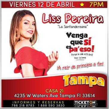LISS PEREIRA TAMPA: Main Image