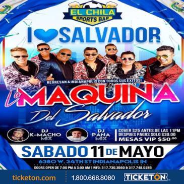 LA MAQUINA DEL SALVADOR: Main Image