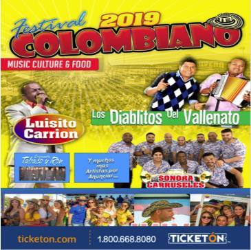 FESTIVAL COLOMBIANO 2019: Main Image