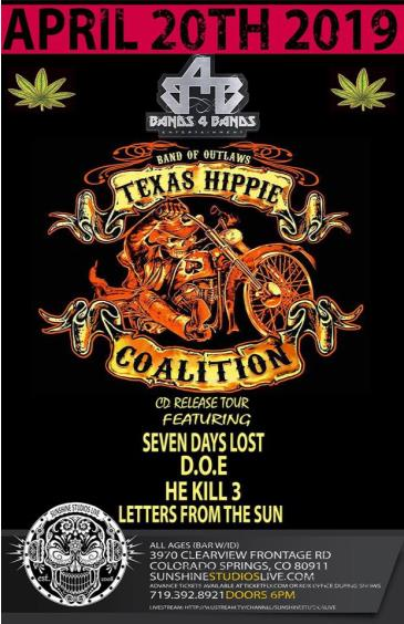 Texas Hippie Coalition CD Release Tour: Main Image
