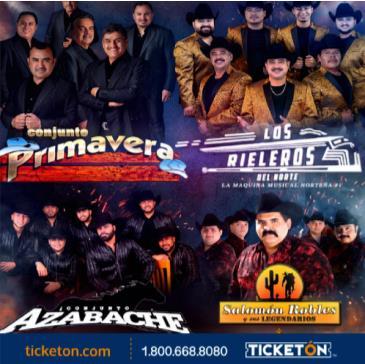 CONJUNTO PRIMAVERA & LOS RIELEROS: Main Image