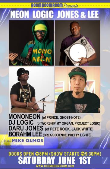 MONONEON-DARU JONES (Jack White)-DJ LOGIC-BORAHM LEE-M.OLMOS: Main Image
