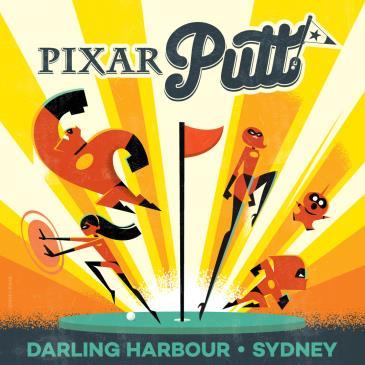 Pixar Putt Darling Harbour Sydney