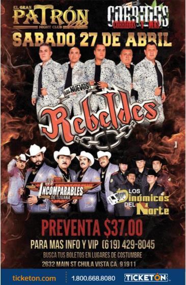 LOS NUEVOS REBELDES: Main Image