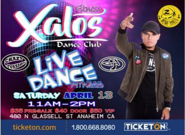 XALOS LIVE DANCE FITNESS: Main Image