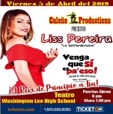 LISS PEREIRA WASHINGTON: Main Image