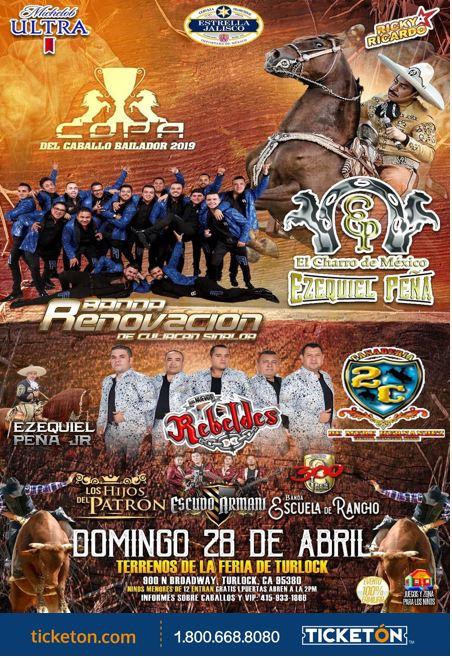Ezequiel Pena Tickets Boletos Terrenos de La Feria Turlock