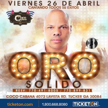 CANCELADO/ORO SOLIDO EN CONCIERTO: Main Image