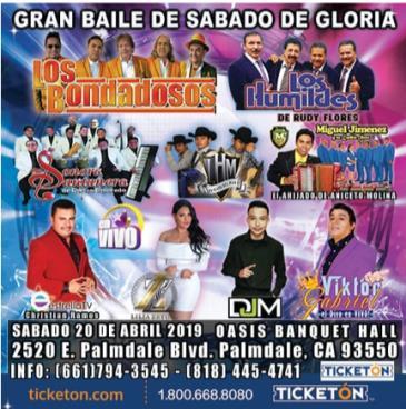 GRAN BAILE DE SABADO DE GLORIA: Main Image