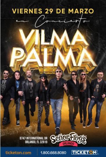 VILMA PALMA E VAMPIROS EN ORLANDO: Main Image