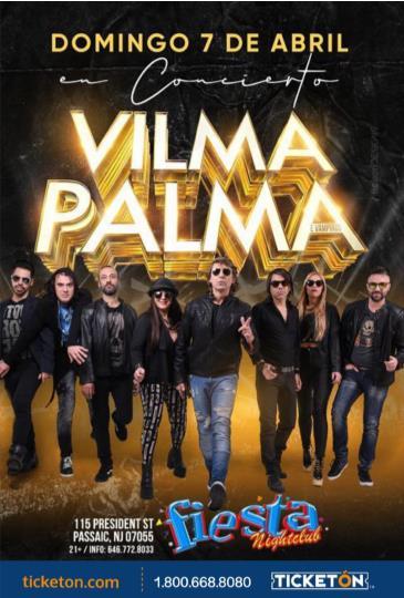 VILMA PALMA E VAMPIROS EN NEW JERSEY: Main Image
