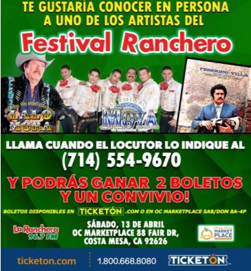 CANCELED-FESTIVAL RANCHERO: Main Image