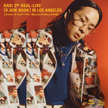 RAVI 3RD REAL-LIVE [R.OOK BOOK] IN LOS ANGELES: Main Image