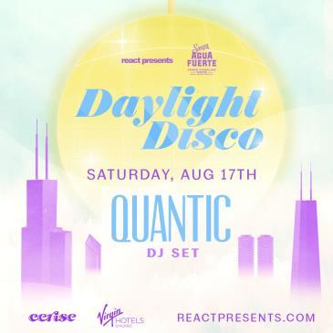 DAYLIGHT DISCO: Quantic (DJ Set)-img