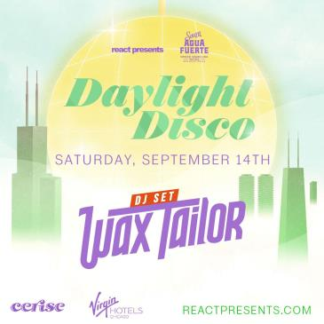 DAYLIGHT DISCO: Wax Tailor (DJ set): Main Image
