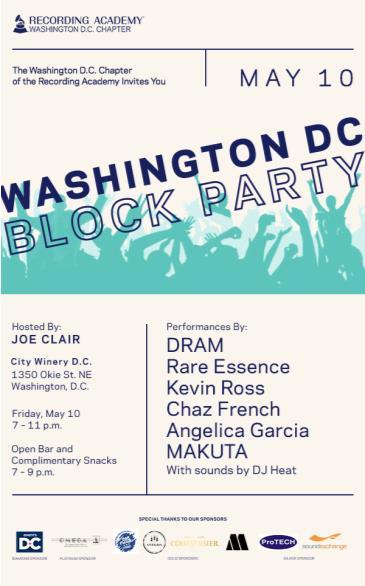 Washington D.C. Chapter Block Party: Main Image
