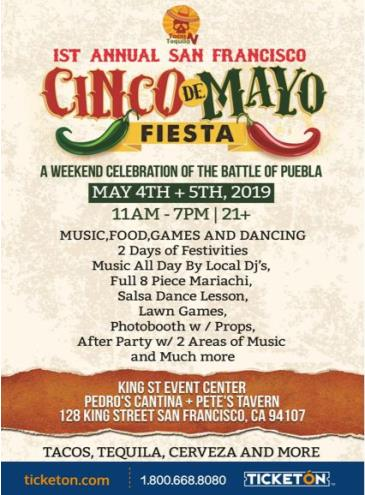 CINCO DE MAYO WEEKEND FIESTA: Main Image