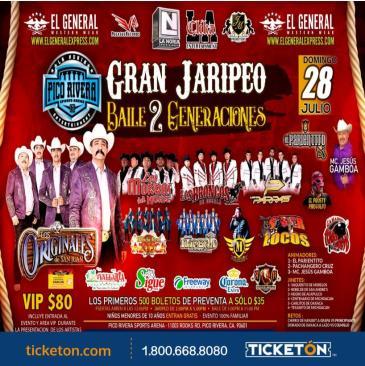 GRAN JARIPEO BAILE DOS GENERACIONES: Main Image