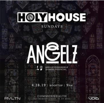 HOLY HOUSE N°10 — Angelz  (21+): Main Image