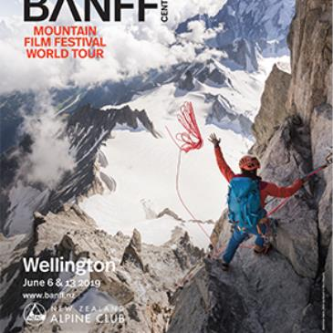 Banff Mountain Film Festival World Tour 2019 Wellington Blue
