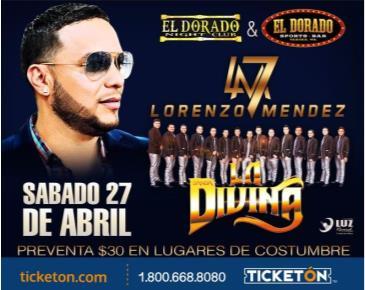 LORENZO MENDEZ: Main Image