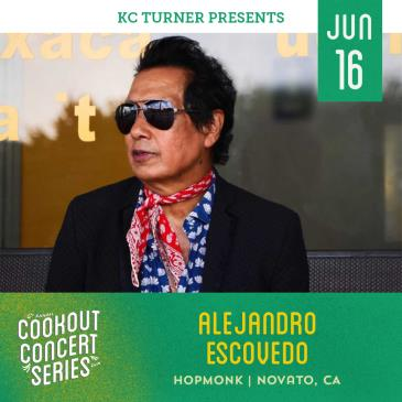 Alejandro Escovedo band (Cookout Concert Series):
