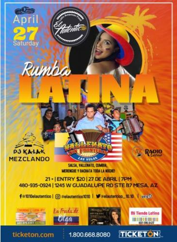 RUMBA LATINA: Main Image