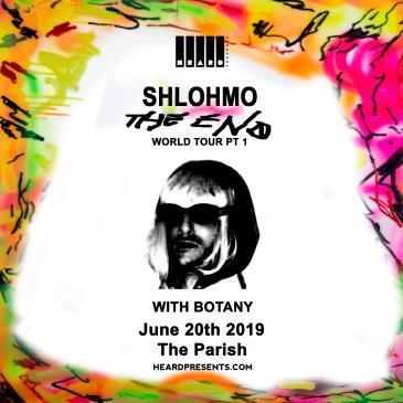 Shlohmo: The End Tour with Botany: Main Image