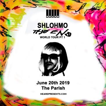 Shlohmo: The End Tour: Main Image