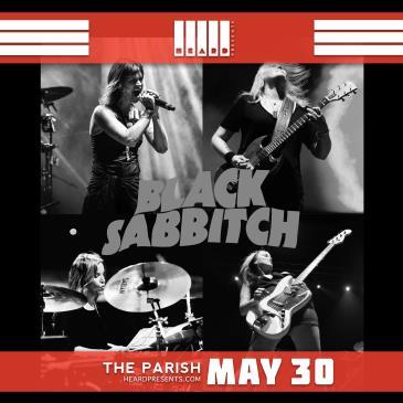 Black Sabbitch (Sabbath Cover Band) w/ Pretties For You: Main Image