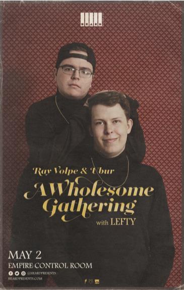 Ray Volpe & Ubur w/ Lefty: Main Image
