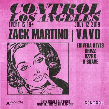 Zack Martino, VAVO: Main Image