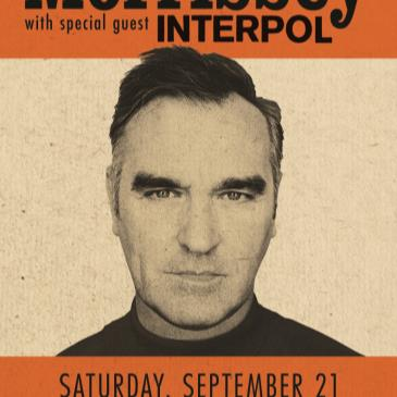 Morrissey with special guest Interpol-img