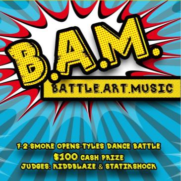 B.A.M. (Battle - Art - Music): Main Image