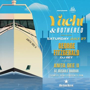 YACHT & BOTHERED: GEORGE FITZGERALD Daytime Boat Party-img