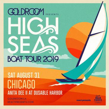 YACHT & BOTHERED: GOLDROOM Daytime Boat Party CANCELLED: Main Image