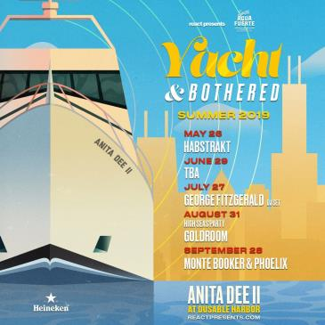 YACHT & BOTHERED: GOLDROOM Daytime Boat Party: Main Image