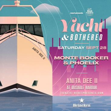 YACHT & BOTHERED: MONTE BOOKER & PHOELIX Daytime Boat Party: Main Image