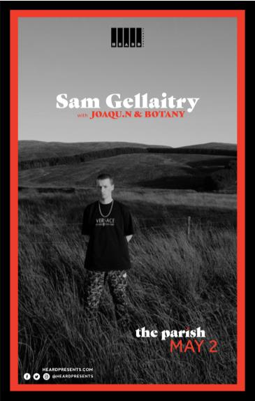 Sam Gellaitry w/ Joaqu.n and Botany: Main Image