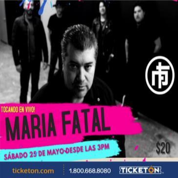 TARDEADA ROCK CON: MARIA FATAL