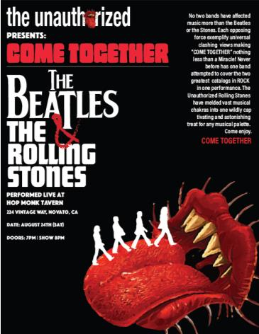The Unauthorized Rolling Stones | The Atomic Beatles: Main Image