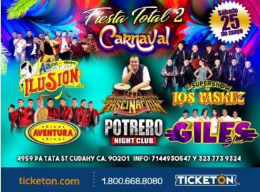 FIESTA TOTAL 2/CARNAVAL EN LOS ANGELES: Main Image